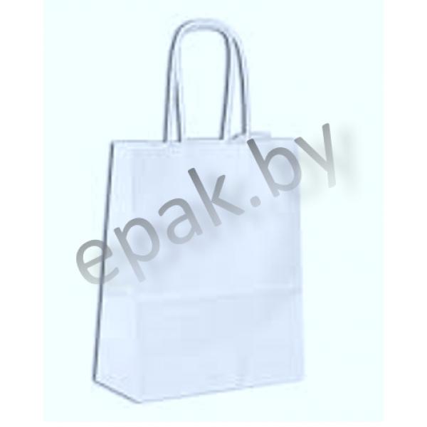 Пакет с ручками-шпагат белый 320*200*370