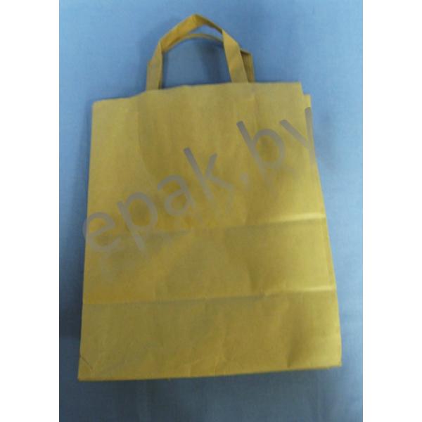 Пакет с плоскими ручками 240*140*280