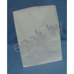 Пакет бумажный 120*80*250мм, материал: писчая белая 65