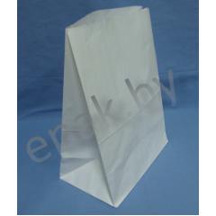 Пакет бумажный 120*80*330, материал: писчая белая 65