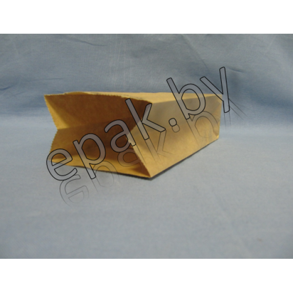 Пакет бумажный 120*80*330, крафт 70