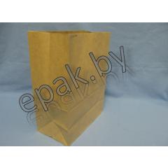 Пакет бумажный 120*80*240мм, крафт 80