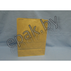 Пакет бумажный  с прямоугольным дном 90*60*255