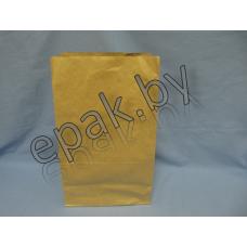 Пакет бумажный  с прямоугольным дном 240*140*400