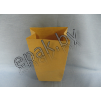 Крафт пакет бумажный с прямоугольным дном 220*120*290