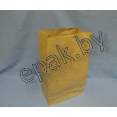 Пакет бумажный  180*110*315, крафт 80