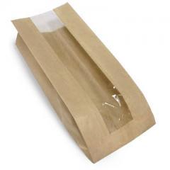 Пакет с окном 100 (50)*40*260 мм