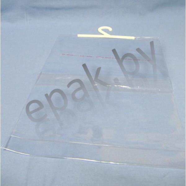 Пакет ПВХ 285*360+14*2 дн.складка+120 клапан с клейкой основой