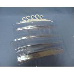 Пакет ПВХ 220*300+70кл. с крючком для упаковки