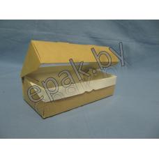 Контейнер бумажный с окном 240 мл