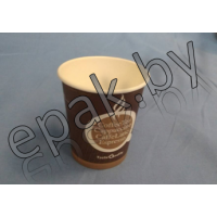 """Бумажный стакан  Дизайн """"Coffee, tea"""" 430 (300) мл"""