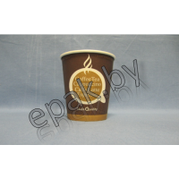 """Бумажный стакан  Дизайн """"Coffee, tea"""", 120 (100) мл"""